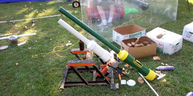 The Spud Gun For Defense