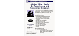 G.I. JIM's Third Annual Preparedness and Survival Symposium
