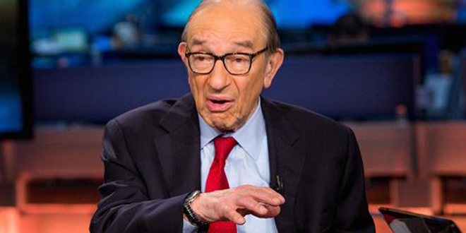 Greenspan: Get ready for another taper tantrum