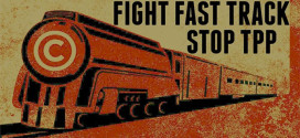 Stop The Trans Pacific Partnership Fast Track interview Stan Santos
