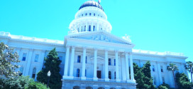 Uncle Sam Goes To The California State Capital in Sacramento To Worship Government