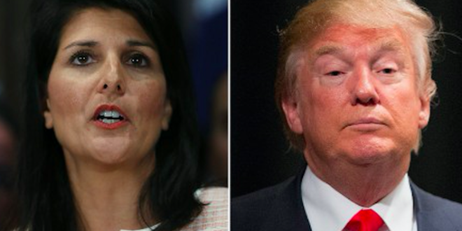 Nikki Haley Gets Chastised by GOP for Not Worshiping Trump