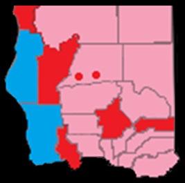 Jefferson political map