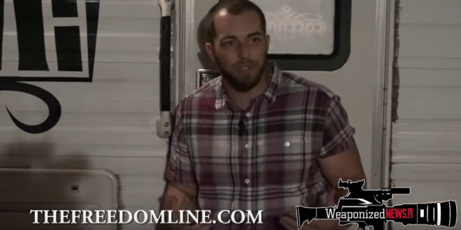 Full Speech: Adam Kokesh FREEDOM! Campfire Book Tour Fresno, CA