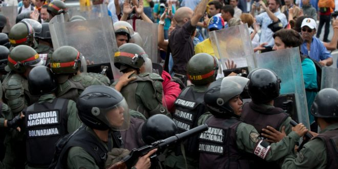 Venezuela Tense As Cops Block Anti-President March