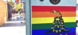 Gay Rights Activists Turn Pro-Gun Plastering Rainbow Gadsden Flags Across West Hollywood #ShootBack
