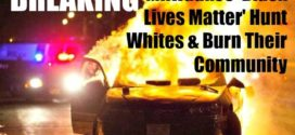 Race War – Milwaukee 'Black Lives Matter' Hunt Whites & Burn Their Community