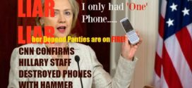 VIDEO: HILLARY CLINTON'S AIDE USED A HAMMER TO DESTROY MOBILE EMAIL DEVICES