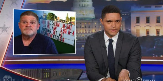 Watch The Daily Show's Trevor Noah Accidentally Destroy The Case For Gun Control