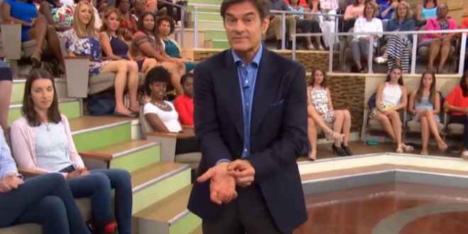 "Dr. Oz Promotes RFID Microchip Implants for People, Calls It ""The Next Big Thing"""